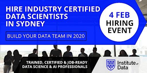 Exclusive Data Science Hiring Event - Sydney - Feb 2020