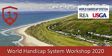 World Handicap System Workshop 2020 (Celtic Manor) tickets