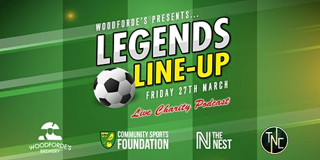 Woodforde's Presents: NCFC Legends Line-up tickets