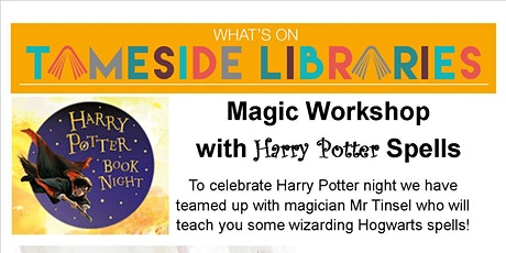 Magic Workshop with Harry Potter Spells tickets