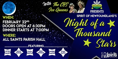 """""""The Night of a Thousand Stars"""" - Winterfest in CBS Dinner Show tickets"""