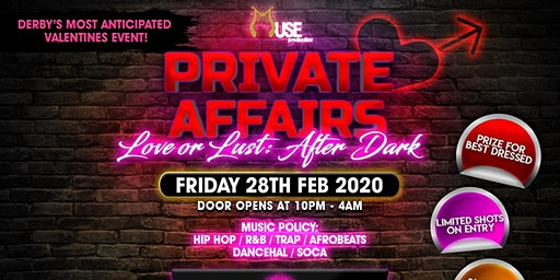 Private Affair: Love or Lust After Dark!!