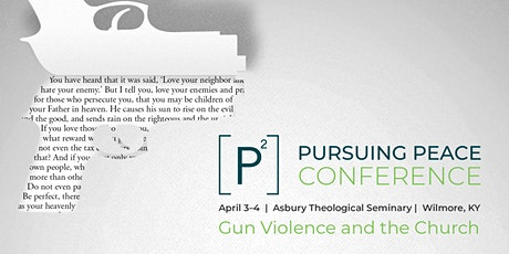Pursuing Peace: Gun Violence and the Church tickets