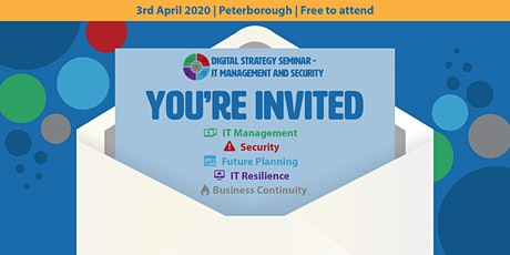 Digital Strategy Seminar - IT Management and Security tickets