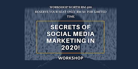Secrets of Social Media Marketing in 2020 Workshop tickets