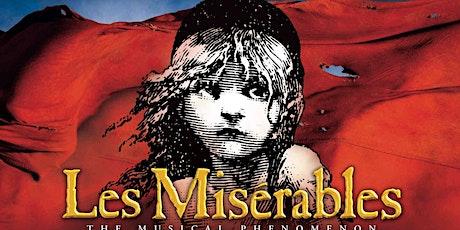 """""""Les Misérables"""" tickets"""