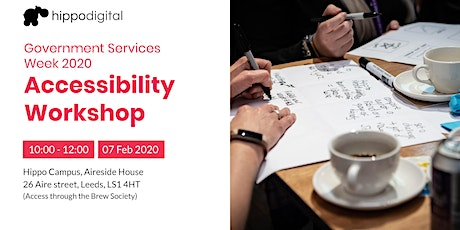Government Services Week 2020: Accessibility tickets