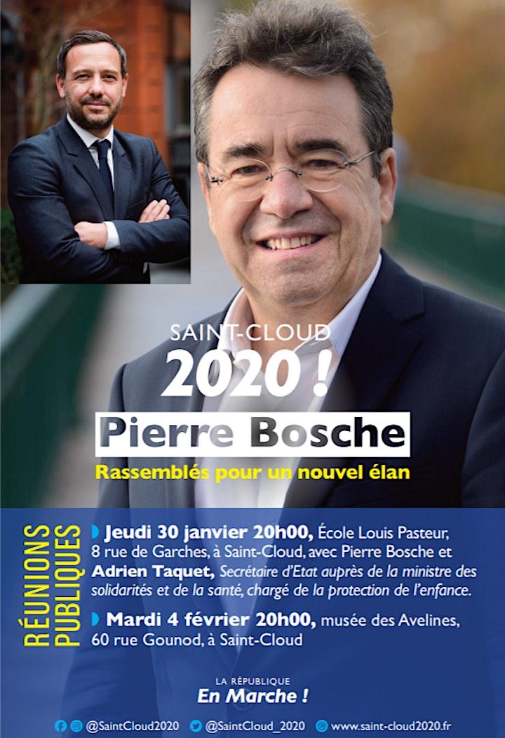 Image pour SAINT-CLOUD 2020! RÉUNION PUBLIQUE #1 - EN PRÉSENCE D'ADRIEN TAQUET