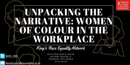Unpacking the Narrative: Women of Colour In the Workplace