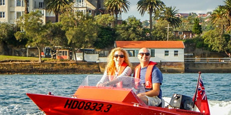 Speed Boat Adventure Sydney tickets