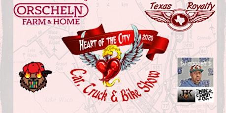 """Orscheln's """"Heart Of The City"""" Car, Truck, & Bike tickets"""