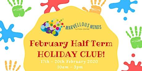 February Half Term Holiday Club Half Day Option tickets