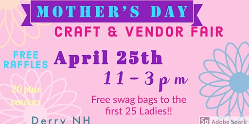 Mother's Day Craft Vendor Fair