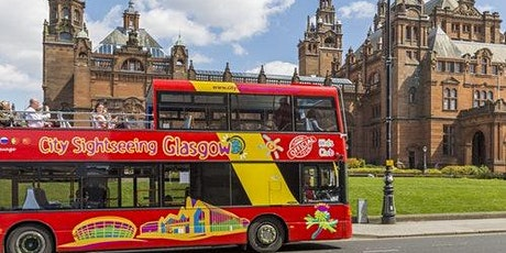 Hop-on Hop-off Bus Glasgow tickets