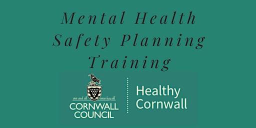 Safety Planning Training - Penzance