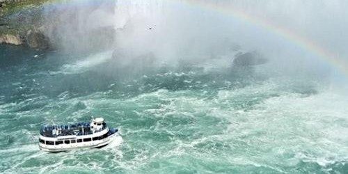 Niagara Falls, USA: Maid of the Mist Boat Cruise & Guided Walking Tour