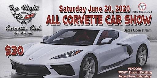 Top Flight Corvette Club - All Corvette Car Show 2020