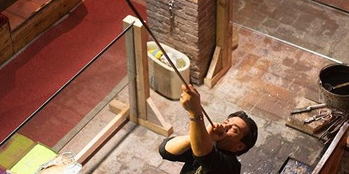 Murano Glass Working Demonstration at the Glass Cathedral – Santa Chiara