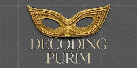 Decoding Purim tickets