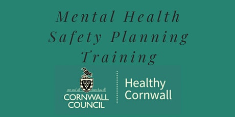Safety Planning Training - Bodmin tickets