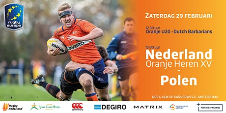 Nederland Heren XV vs. Polen tickets