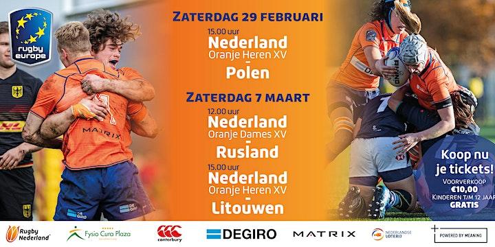 Nederland Heren XV vs. Polen image