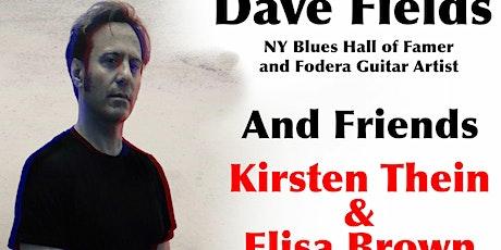 Dave Fields & Friends Blues Show tickets