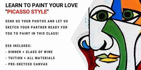 Orion - Paint your lover 'Picasso Style' tickets