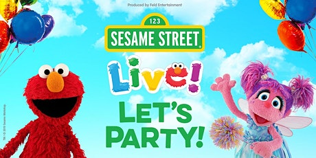 """Sesame Street Live! Let's Party!"" tickets"