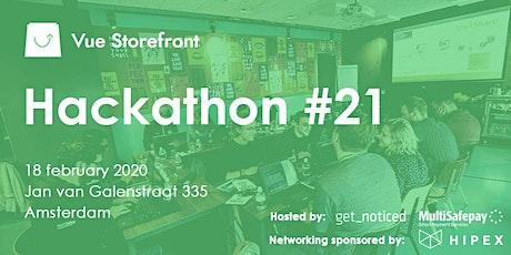Vue Storefront Hackathon Amsterdam (Third Edition) tickets