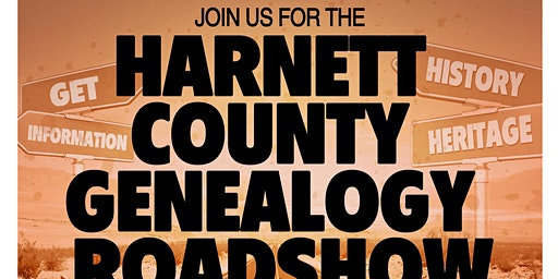 "Harnett County Genealogy Roadshow ""Conversation with Kenyatta Berry"""