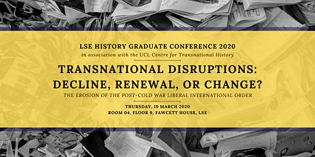 LSE History Graduate Conference 2020 tickets