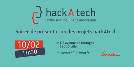 Soirée de présentation des projets hackAtech billets