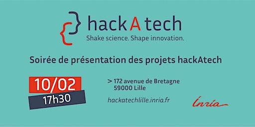 Soirée de présentation des projets hackAtech