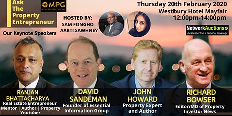 Ask The Property Entrepreneur - Launch Event The Westbury  Mayfair tickets