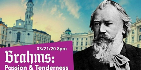 """The Redlands Symphony -- """"Brahms: Passion & Tenderness"""" tickets"""