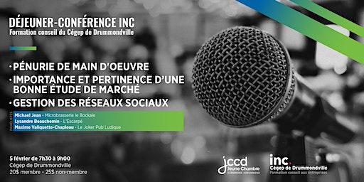 Déjeuner - Conférence INC. (JCCD)