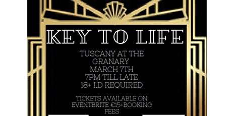 Key to life tickets