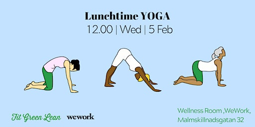 Lunchtime Yoga | Fit Green Lean @WeWork