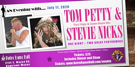 An Evening With Tom Petty & Stevie Nicks Tribute Show tickets