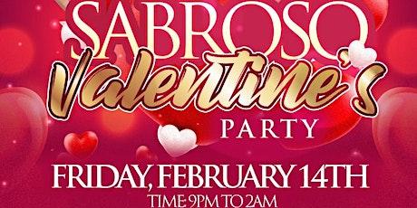 SABROSO Valentines Party tickets