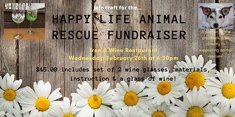 Craft & Cocktails Happy Life Animal Rescue Fundraiser  tickets