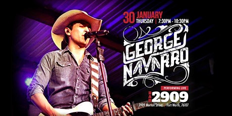 George Navarro Live in Concert Jan 30th tickets