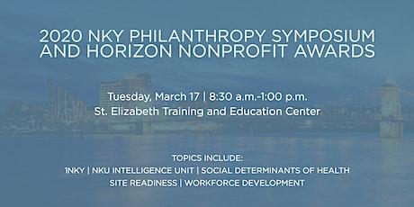 2020 Northern Kentucky Philanthropy Symposium and Horizon Nonprofit Awards tickets