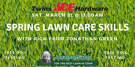 Spring Lawn Care Skills tickets