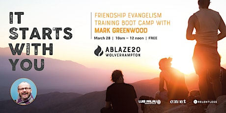 Ablaze20 - Friendship Evangelism Training tickets