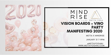 Vision Board + Vino Party- Manifesting 2020 tickets