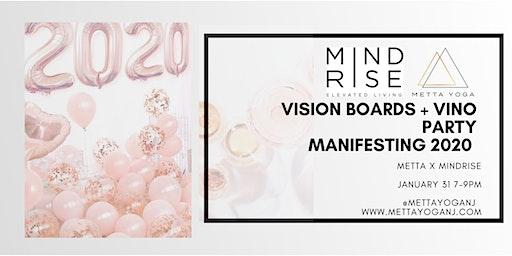 Vision Board + Vino Party- Manifesting 2020