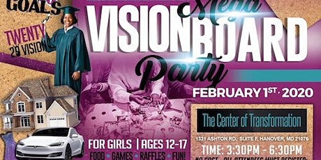Mega Vision Board Party!!!!! tickets