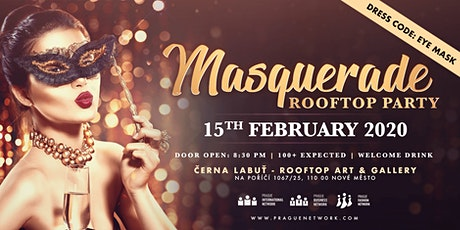 Masquerade Rooftop Party Tickets
